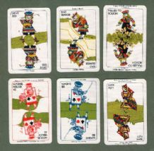 Collectible Vintage cards game Kargo Golf game